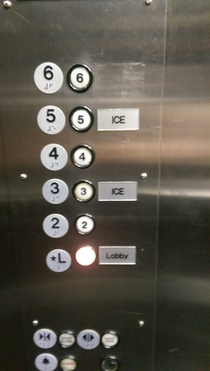 My hotels rapping elevator