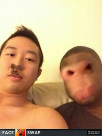 My housemates used Faceswap and we were not disappointed with the results