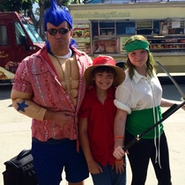 My kids cajoled me into taking them to Anime Expo  - then they talked me into cosplay with them