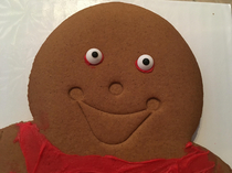 My little sisters gingerbread cookie