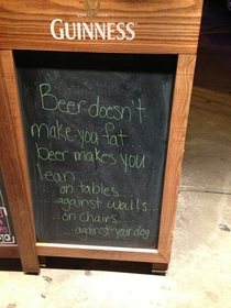 My local bar