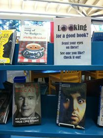 My local library has a keen sense of humor