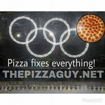My local pizza shop FTFYd the Olympics
