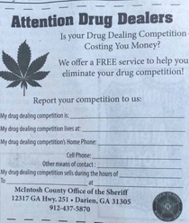 My local sheriffs way of doing business