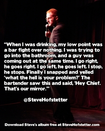 My low point x-post rstandupshots