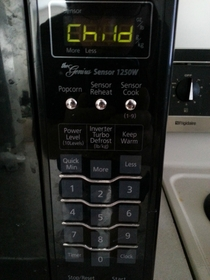 My microwave is demanding a sacrifice