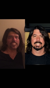 My mom and dad face swap looks like Dave Grohl