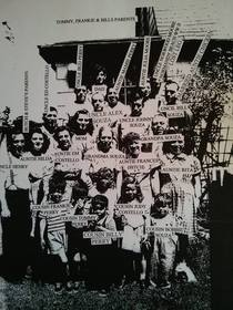 My mom labeled this family photo for us kids before she died so wed know who was who and who was a BITCH