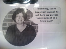 My mother is retiring this week after  years of teaching This was from when she began