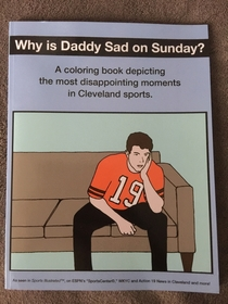 My neighbor Tom is a Cleveland Browns fan His children gave him this