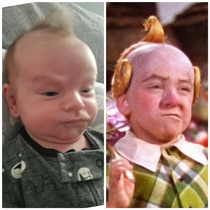 My nephew obviously has connections to the lollipop guild
