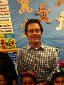 My nephews teacher looks very familiar