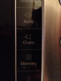 My new microwave came with this button and Im afraid to press it