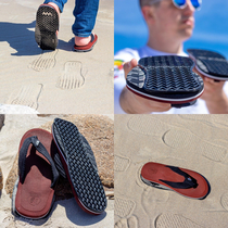 My newest fake invention is the FlopFlips Sandals with reverse soles so it looks like you were walking the opposite direction on the beach See ya later stalkers