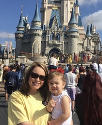 My niece is loving her first trip to Disney