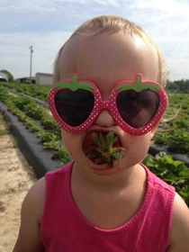 My niece loves strawberries