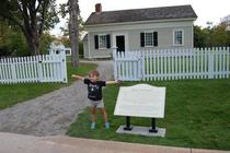 My niece wore her Tesla shirt to Edisons homestead at Greenfield Village Shes pretty much the coolest kid ever