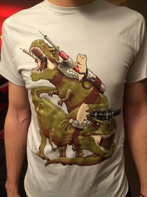 my obsession with dinosaurs as a kid and my obsession with reddit as an adult have come together perfectly in this t-shirt