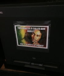 My printer at work