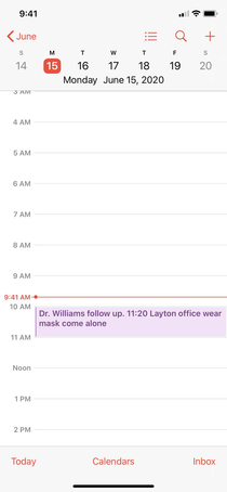 My reminder to myself for my doctor appointment looks like Im negotiating a hostage situation