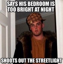 My scumbag neighbor Buy some curtains asshole