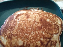 My sister made me pancakes this morningis she trying to tell me something -