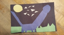 My sister made this dinosaur in her class here is a first look at the elusive E Rectus