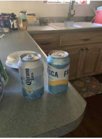 My sister sent my  year old nephew to school today with what she thought was a Fresca packed in his lunch