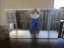 My sister tried to buy a mirror on Craigslist no picture was put up so she asked the guy to send her onewas not disappointed