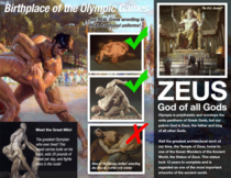 My son was assigned Olympia for his th grade Ancient Greek city-state travel brochure project