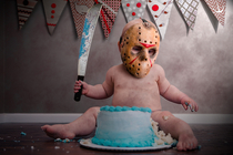 My sons first birthday was Friday the th so I made some edits to his cake smash photos