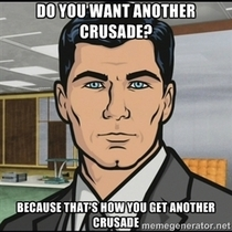 My thoughts when reading the post saying ISIS is planning to assassinate the Pope
