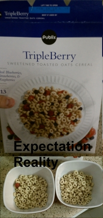 my Triple Berry cereal is missing two