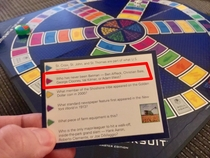 My Trivial Pursuit question is outdated