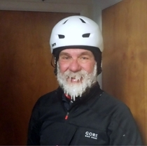 My Uncle after his New Years Day mountain bike ride