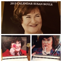 my uncle in Scotland sends me a calendar every Yearthis arrived today