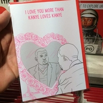 My Valentines card search for this year is over