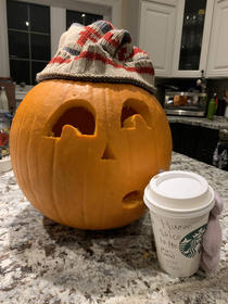 My  year old daughters idea Human Spice Latte