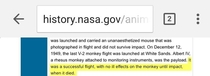 NASA looking at the bright side in bad things