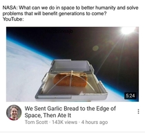 NASA vs YouTube