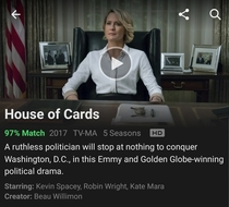Netflix casually removes Kevin Spacey from their House Of Cards preview images