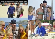 Never bring Channing Tatum to the beach