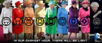 New from DC Comics The Queen Lantern Corps