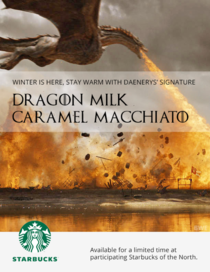 New Game of ThronesStarbucks of the North ad
