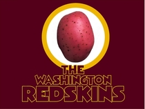 New Redskins mascot so that the name is not offensive