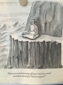 New Yorker cartoon oldie but goodie