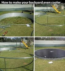 Next level trampolining