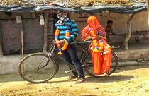 No chill Indian man cycles  km to marry amid lockdown pedals back with bride