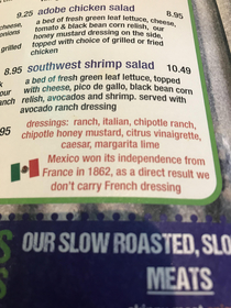 No French Dressing
