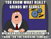 No one chooses Comcast they are forced into the decision due to lack of options